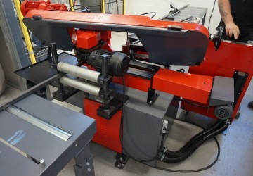 Manufacturing investment: Automatic horizontal bandsaw